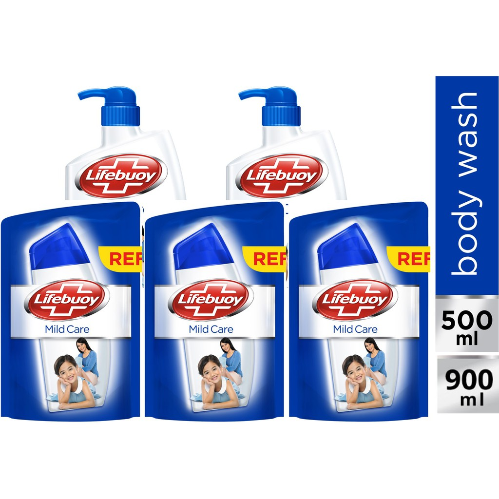 Dove Body Wash Go Fresh Revive Pump 550ml Refill 400ml Paket Hemat Shopee Indonesia