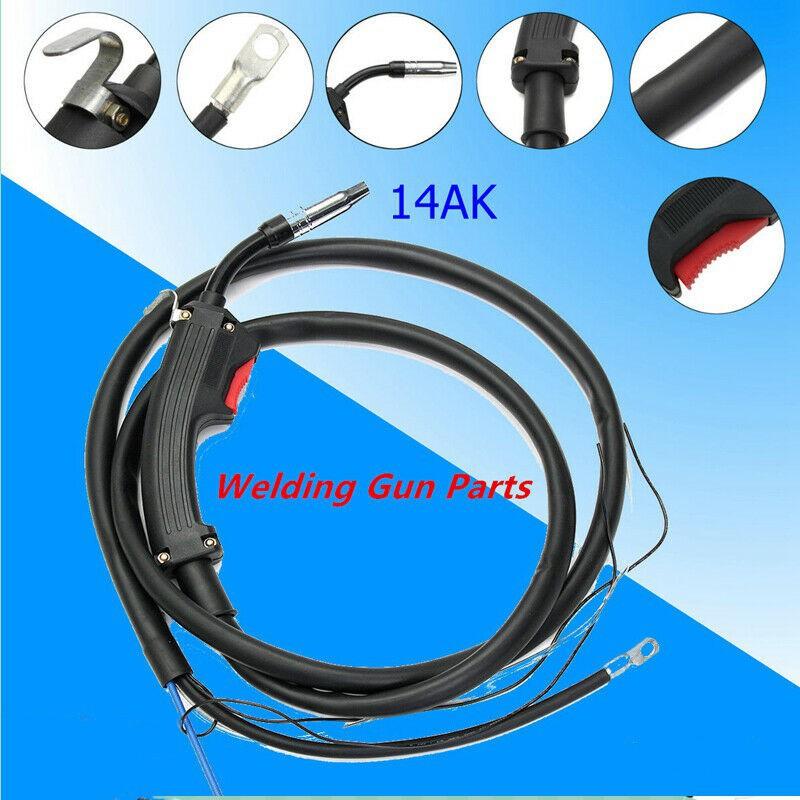 14ak 2m Welding Gun Parts Electric Welder Mig Torch Stinger Replacement Shopee Indonesia