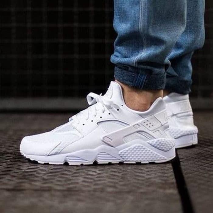 Sepatu nike air huarache ultra white premium quality