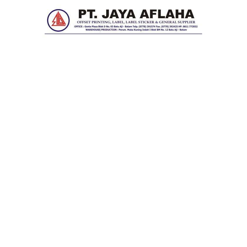 Jasa Cetak Kop Surat Jakarta Selatan