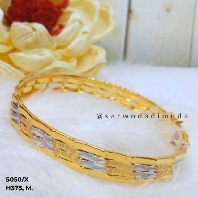 Sarwodadi muda jewelry Gelang emas 5,5Gram