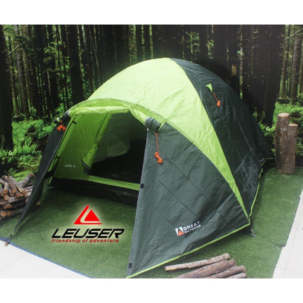 harga deeal easyy Dome Tent / Tenda Great Outdoor Java 4 Persons ssip R89 Shopee.co.id