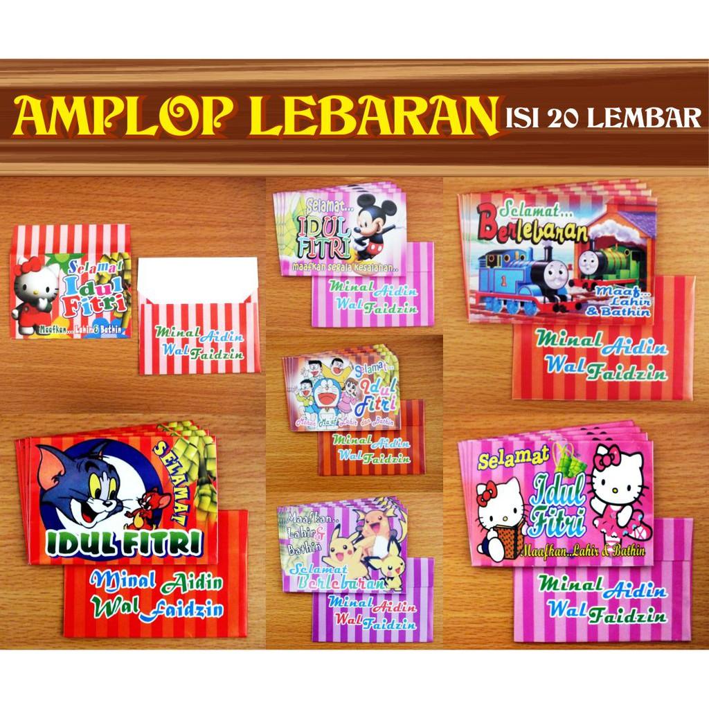 Amplop Lebaran Astor Dan Karakter Lucu Shopee Indonesia Amploo