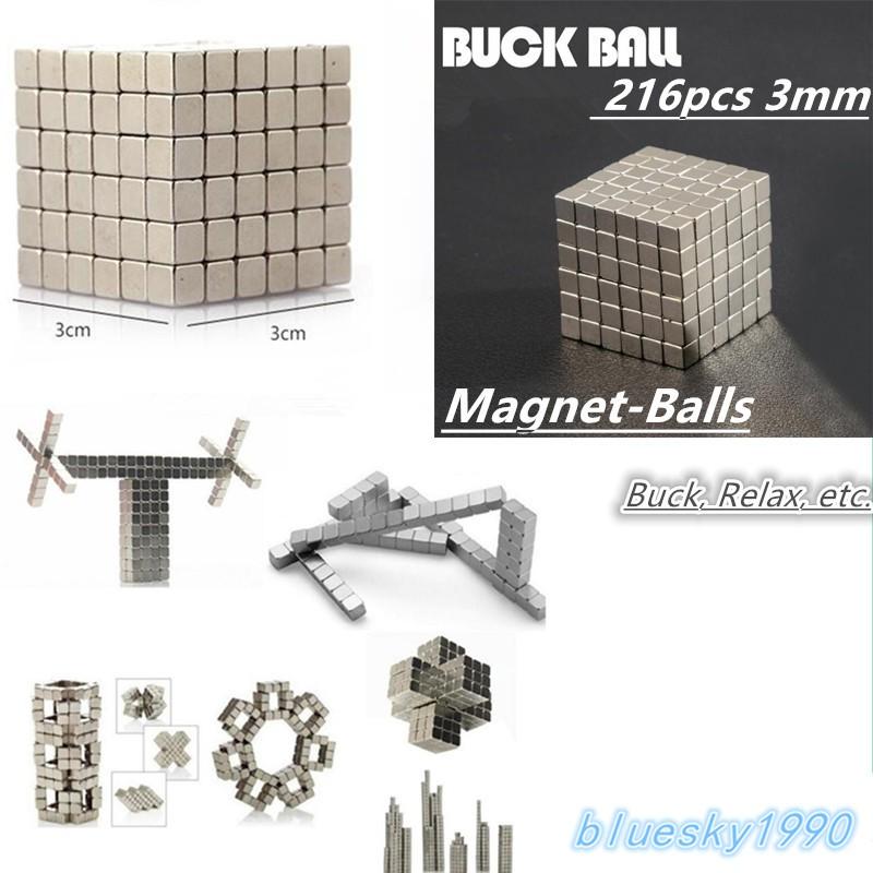 Buckyballs / Magnetic Ball / Bola Magnet mainan ukuran 3mm isi 216pcs   Shopee Indonesia