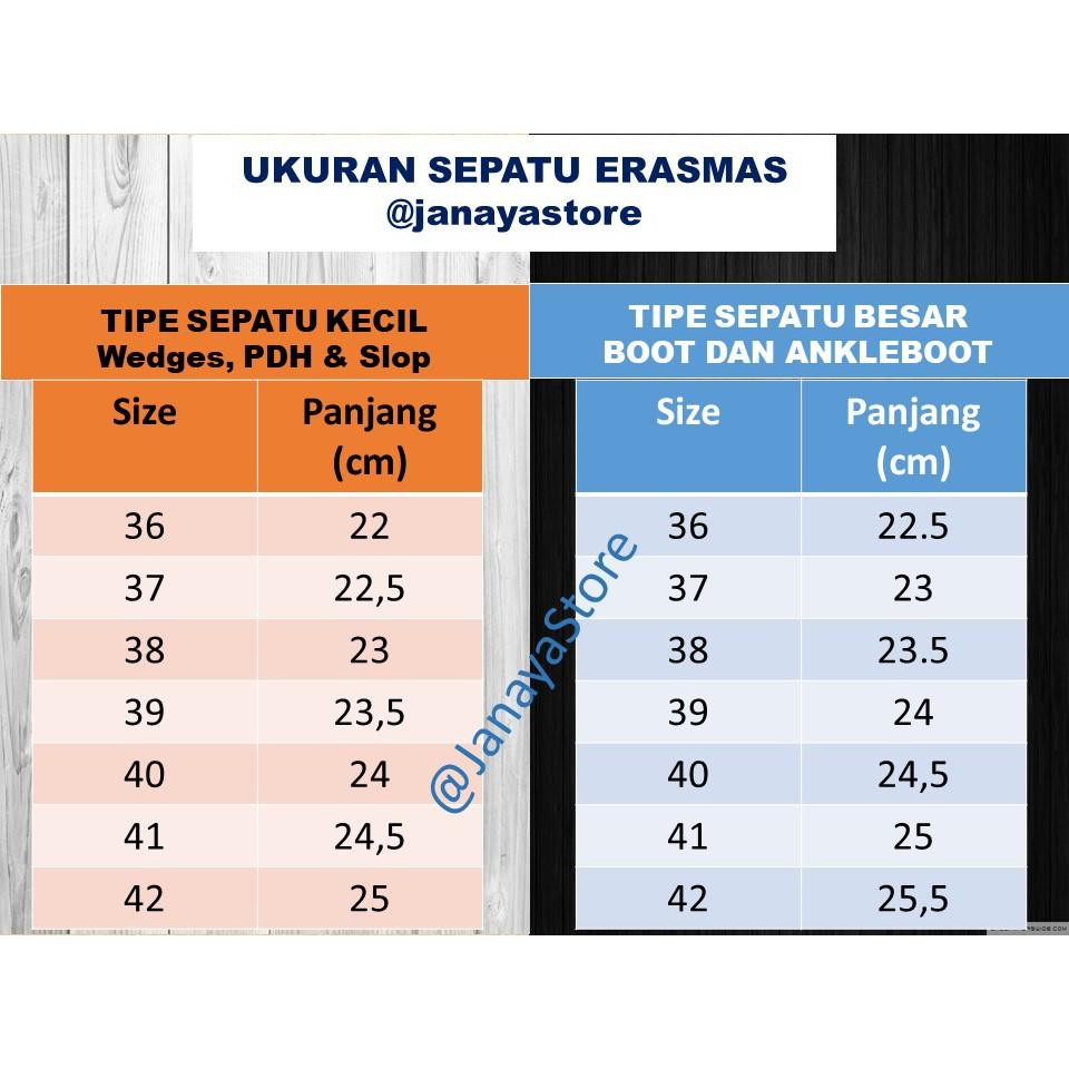 Sepatu Polwan Kowad Erasmas Semi Ankle Boot 3cm 040