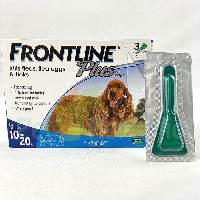 Seller Terbaik Frontline Plus For Medium Dog 10 20kg Obat Kutu Anjing 1pcs Shopee Indonesia