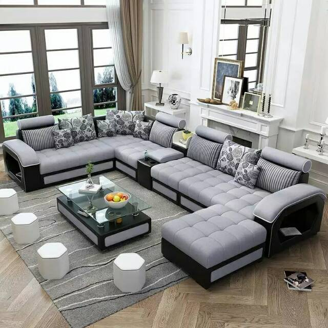 Sofa Minimalis Letter U Putus Sofa Jumbo Dan Mewah Dibuat Khusus Untuk Ruang Tamu Yang Luas Shopee Indonesia