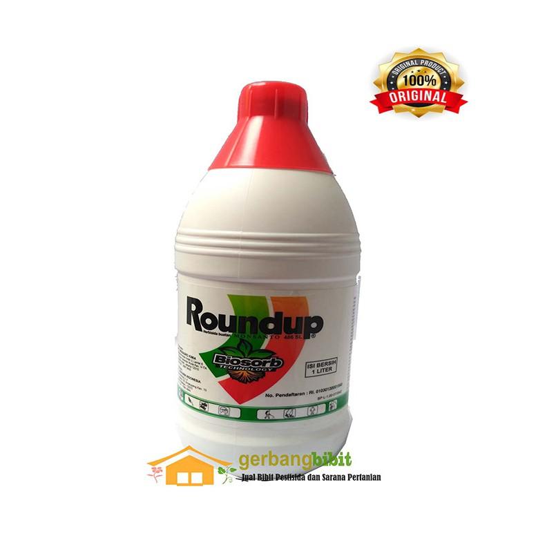 Herbisida Roundup 486 SL 1liter Pembasmi Rumput Gulma Liar | Shopee Indonesia