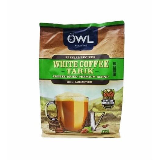 OWL WHITE COFFEE TARIK 3 IN 1 HAZELNUT SUMATRAN MANDHELING ...