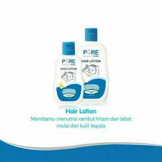 PROMO Pure Baby Hair Lotion / Purebaby minyak rambut bayi 80ml dan 230ml