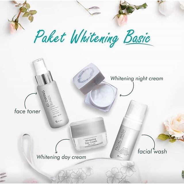 Promo Paket Wajah Whitening Series Ms Glow By Cantik Skincare Shopee Indonesia