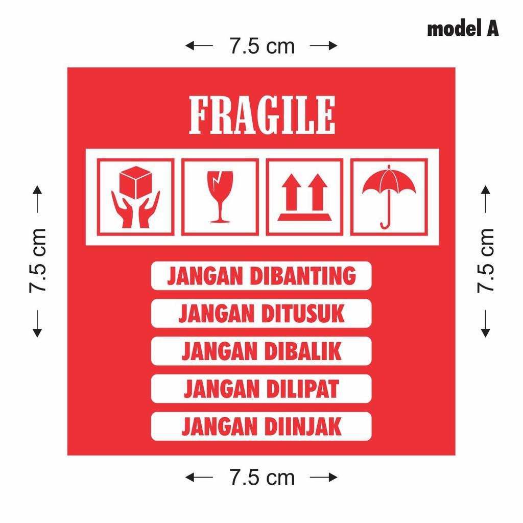 stiker olshop stiker fragile stiker jangan dibanting shopee indonesia stiker olshop stiker fragile stiker jangan dibanting