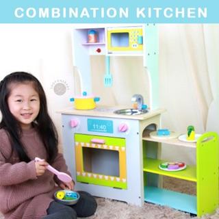 Refrigerator Kitchen Set Wooden Toys Girls Toy Food Pretend Play Mainan Anak Masak Masakan Dapur Shopee Indonesia