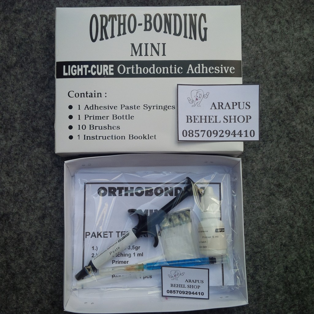 Lem Behel Ortho Bonding Mini Laser Orthobonding Shopee Indonesia Paket Permanen Orthodontics Original