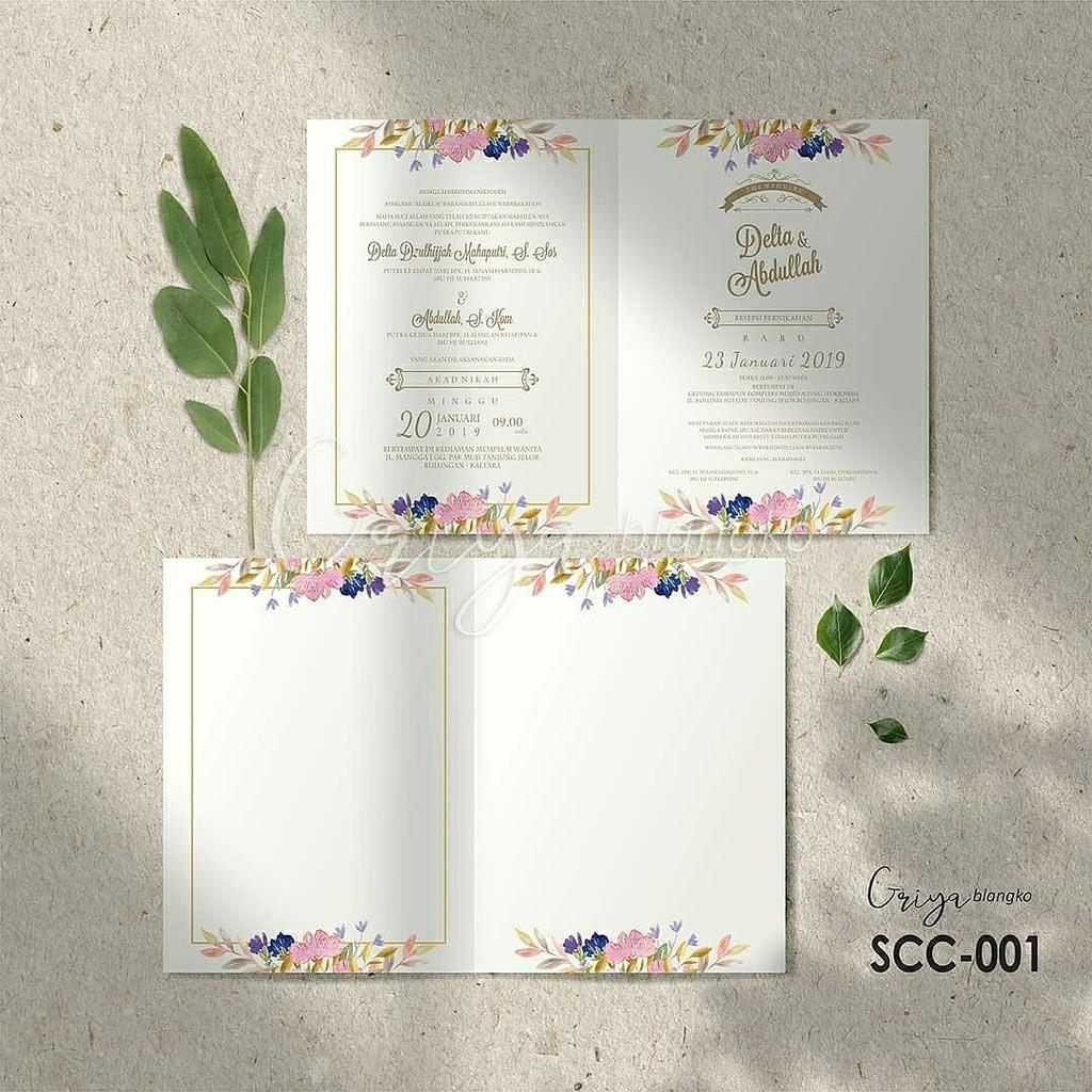 SCC 20] Blangko Kosong Undangan Pernikahan Elegan Terbaru 20 ...