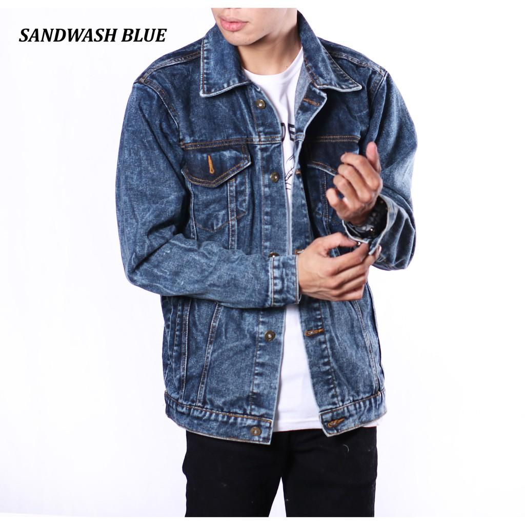 Hipster Jaket Jeans Denim Shopee Indonesia Bioblits