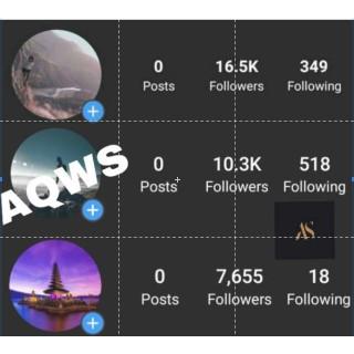 Jual Akun Instagram Followers 10k+