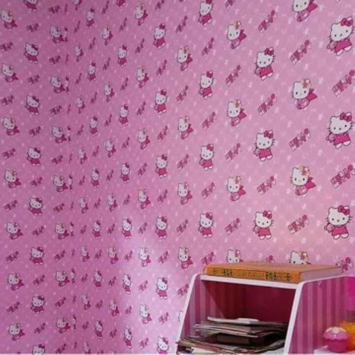 Wallpaper Hello Kitty Temukan Harga Dan Penawaran Dekorasi Online