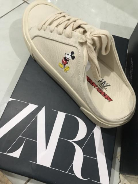 Zra X Mickey Mouse Sneakers Shopee Indonesia