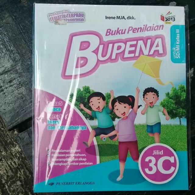 Bupena 3c Untuk Kelas 3 Sd Mi K13 Shopee Indonesia