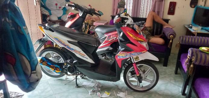 Striping Beat New 1 Icon Babylook Putih Shopee Indonesia