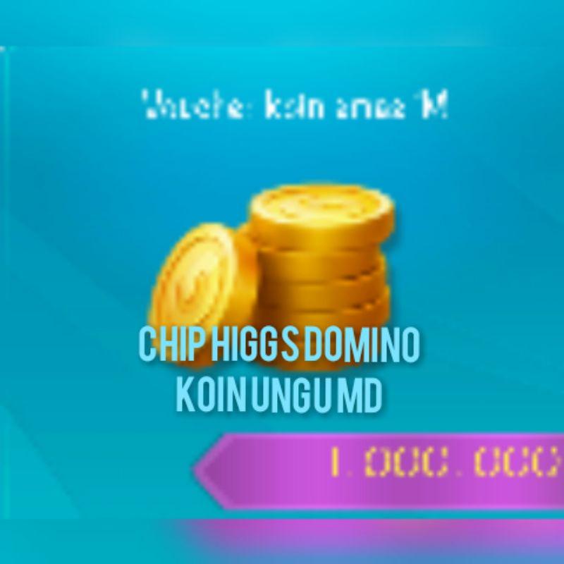 Chip koin ungu MD higgs domino termurah 1M