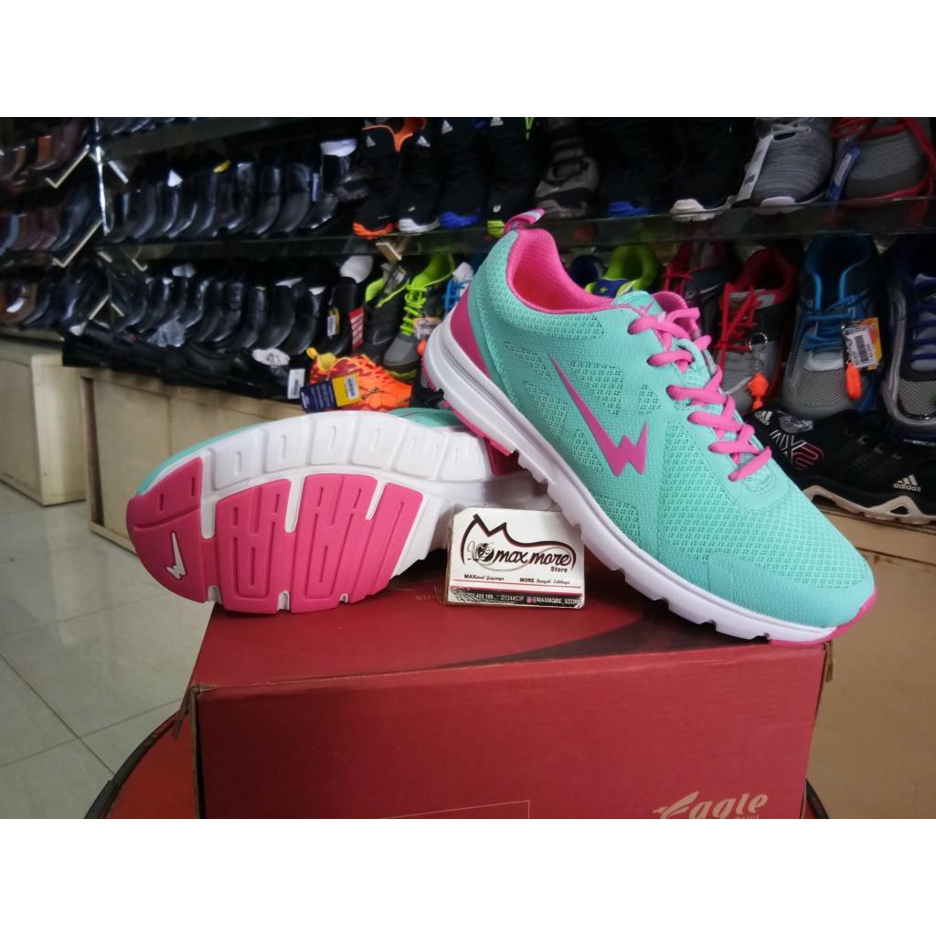Sepatu Wanita Olahraga Ardiles Bearnina Murah Estelle Women Running Shoes Hitam 38 Original Shopee Indonesia