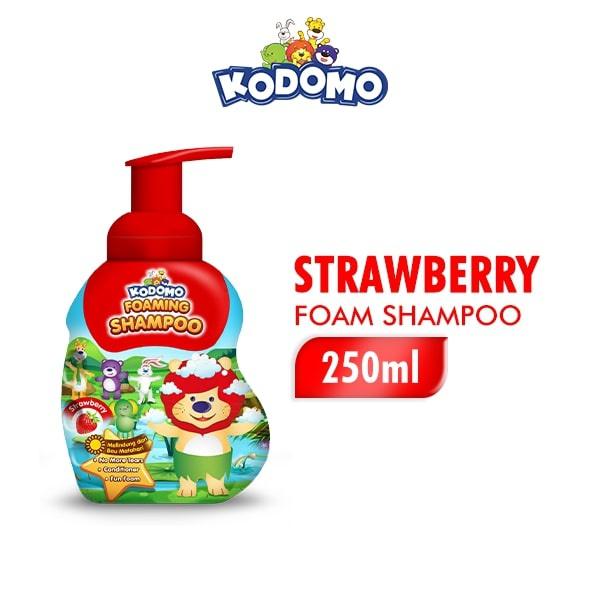 KODOMO Shampoo STRAWBERRY Botol 250ML