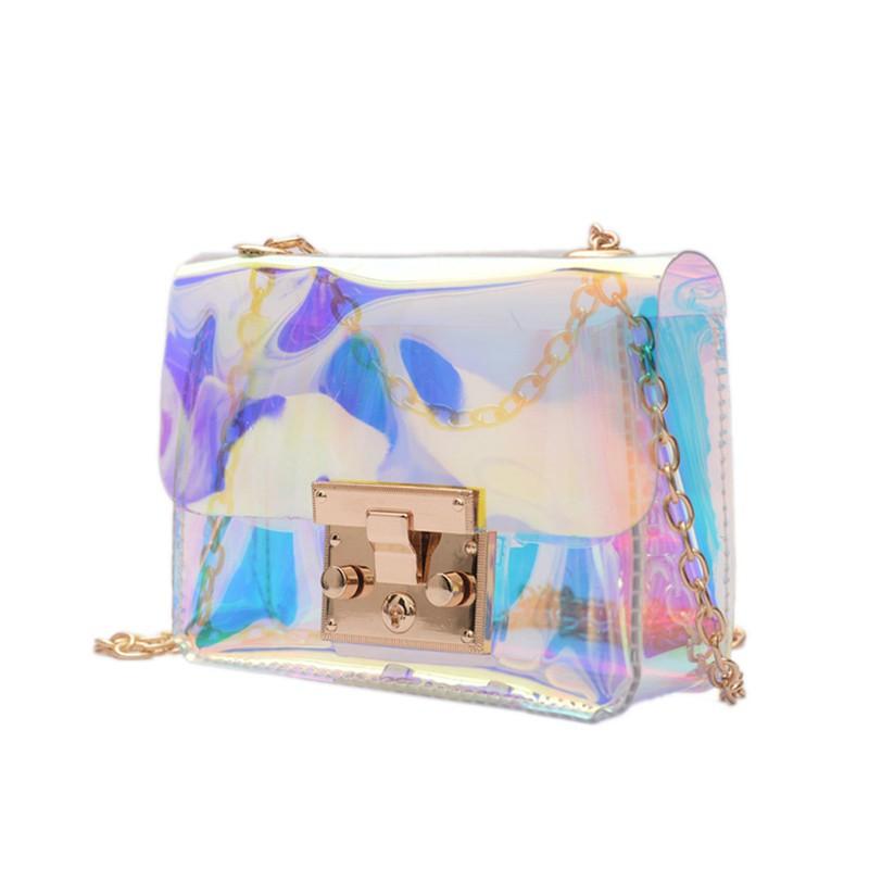 Permen berwarna plastik transparan Mini rantai tas kecil tas tas jelly (Matte merah anggur). Source · Tas Selempang Kecil Bahan Plastik Transparan dengan ...