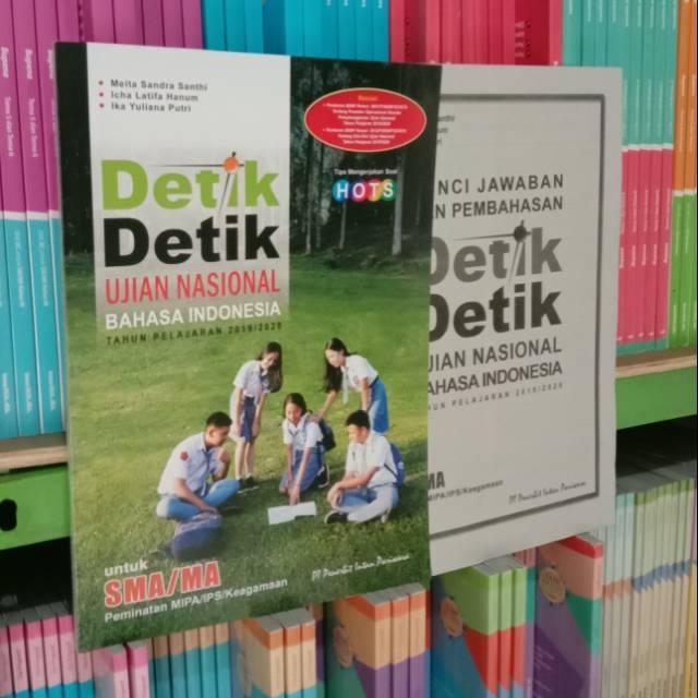 Terbaru Detik Detik Un Bahasa Indonesia Sma 2020 Plus Kunci Jawaban Shopee Indonesia