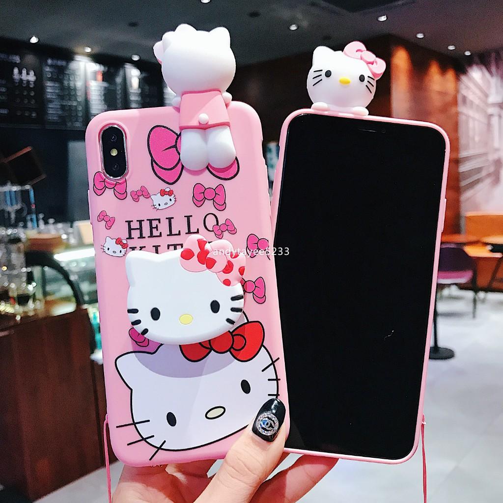 Casing Silikon Boneka Hello Kitty Untuk Vivo Y11 Y17 Y12 Y15 2020 Y19 Y50 V17 V19 Y91c V15 V15pro V11i V9 V7 Plus V5 Y71 Y81 Y91 Shopee Indonesia