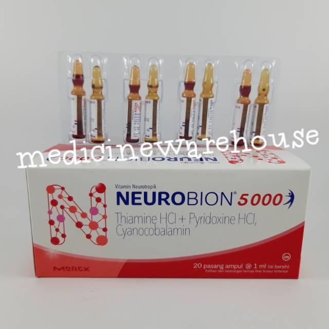 Neurobion 5000 Injeksi Sepasang