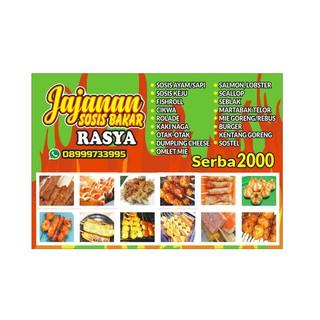 banner sosis bakar ukuran 115 x 80 cm shopee indonesia banner sosis bakar ukuran 115 x 80 cm