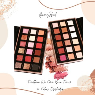 FOCALLURE WE CARE YOUR FAVORS 18 Colors Bright Lux & Neutral Eyeshadow with Mirror ORIGINAL thumbnail