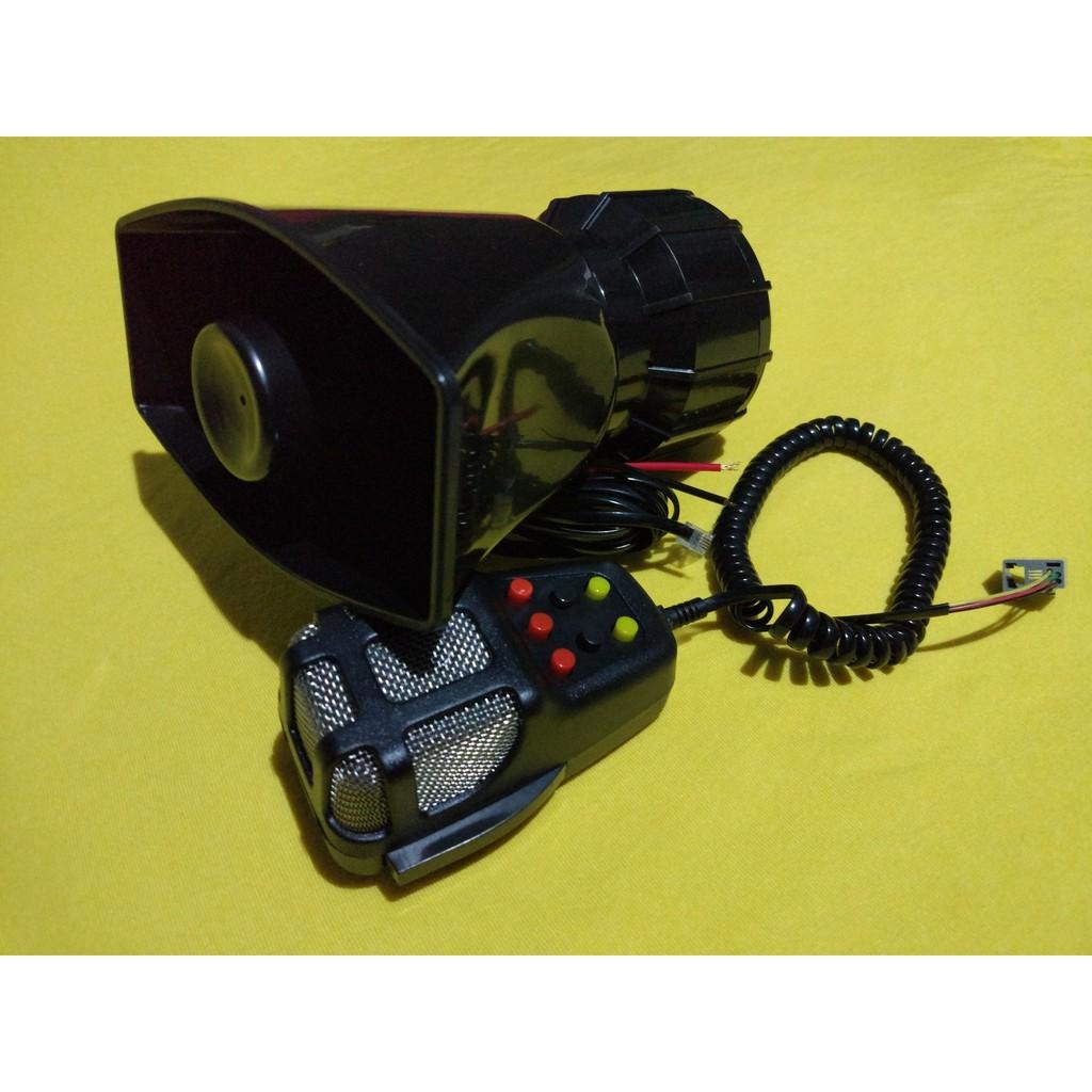 Klakson Toa 7 Suara Sirine Patwal Polisi Dan Mic Shopee Indonesia 80 Watt Best Quality