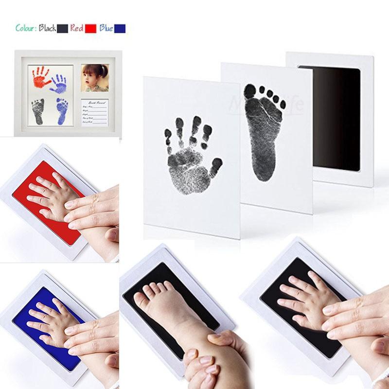 Inkless Wipe Baby Kit-Hand Foot Print Keepsake Newborn Footprint Handprint Child