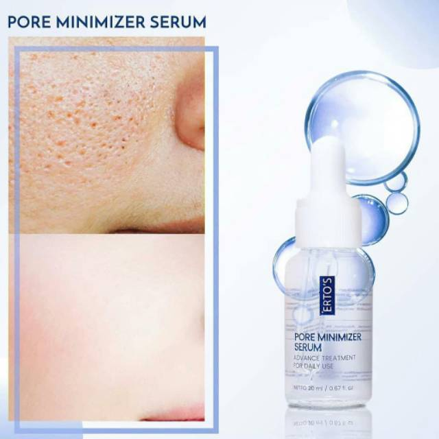 Ertos Pore Minimizer Serum Shopee Indonesia