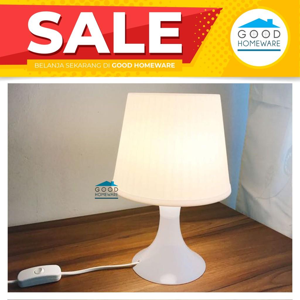 Lampan Lampu Meja Shopee Indonesia Ikea Putih
