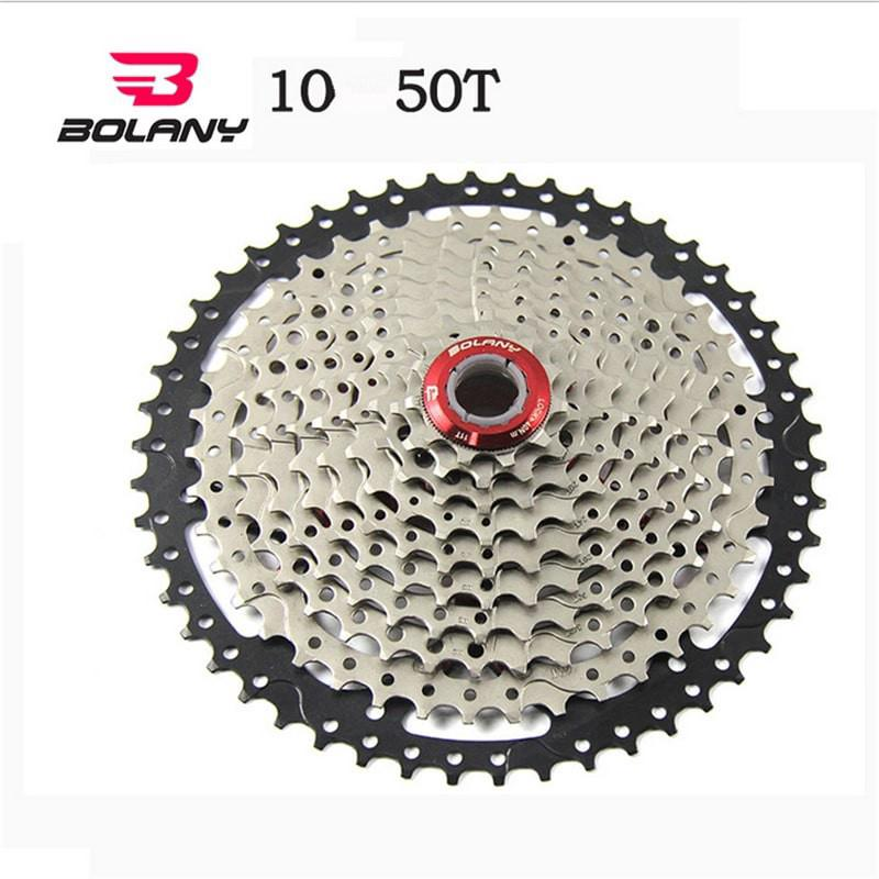 Bolany 10 Speed Cassette Gold 11-42T MTB Mountain Bike Freewheel fit SHIMANO NEW