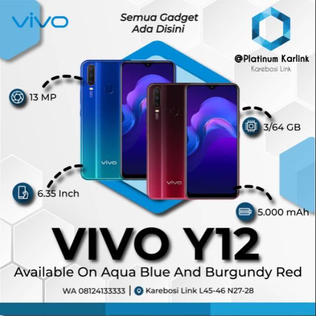 VIVO Y12 3/64 GB BLUE/RED