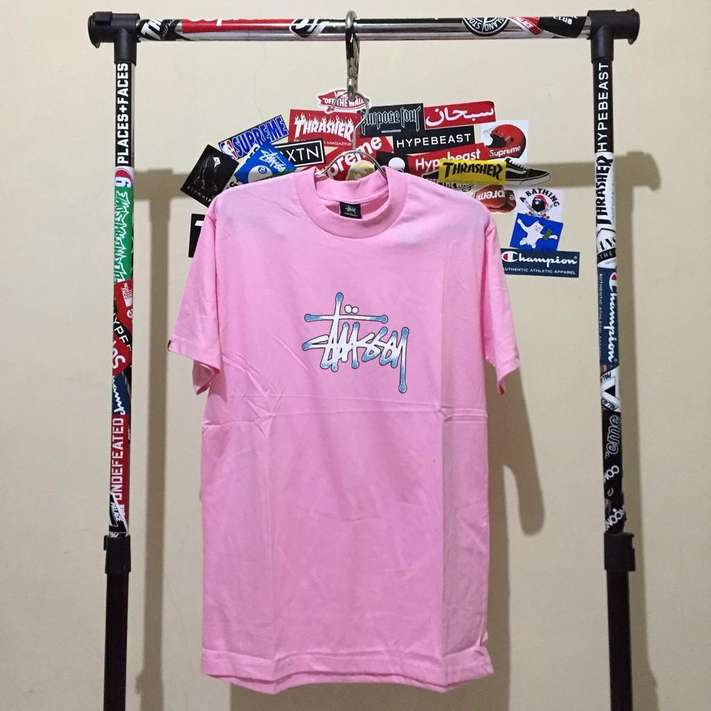 fa1823d816ef KAOS - TSHIRT THRASHER PINK SKATE DESTROY PREMIUM | Shopee Indonesia