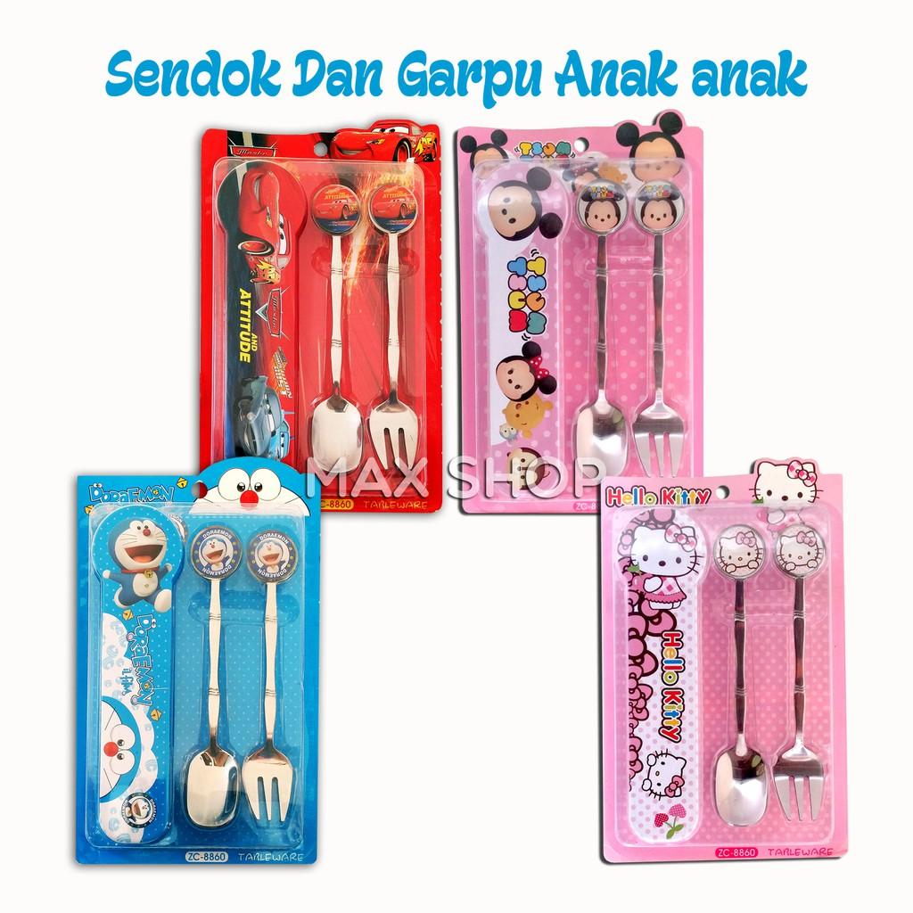 Sendok Makan Garpu Super Doll Stainless Steel Asli Original 6 Pcs Merk Branded Stenlis Stil 200gr Shopee Indonesia