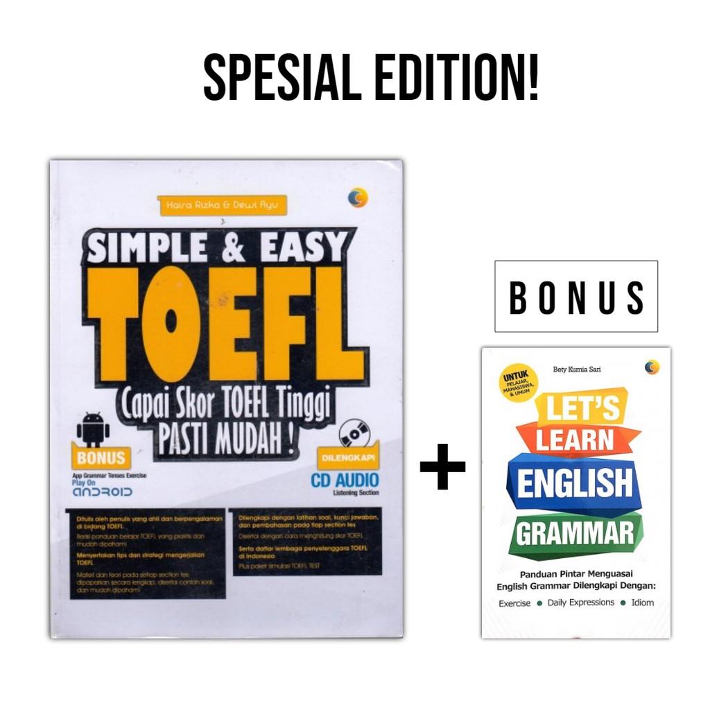 Toefl Killer Cara Pasti Mendapat Skor 600 Inspira Shopee Paket 3 E Book Ielts Toeic Rekomendasi Easy English Indonesia