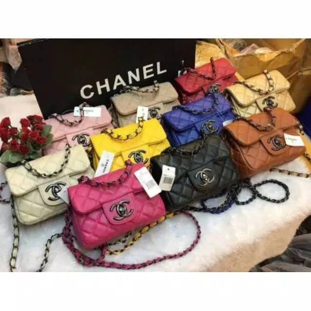 🔥🔥🔥 TAS CHANEL MINI TERMURAH TAS SLING BAG FASHION TAS wanita import  batam murah selempang  ceef129481