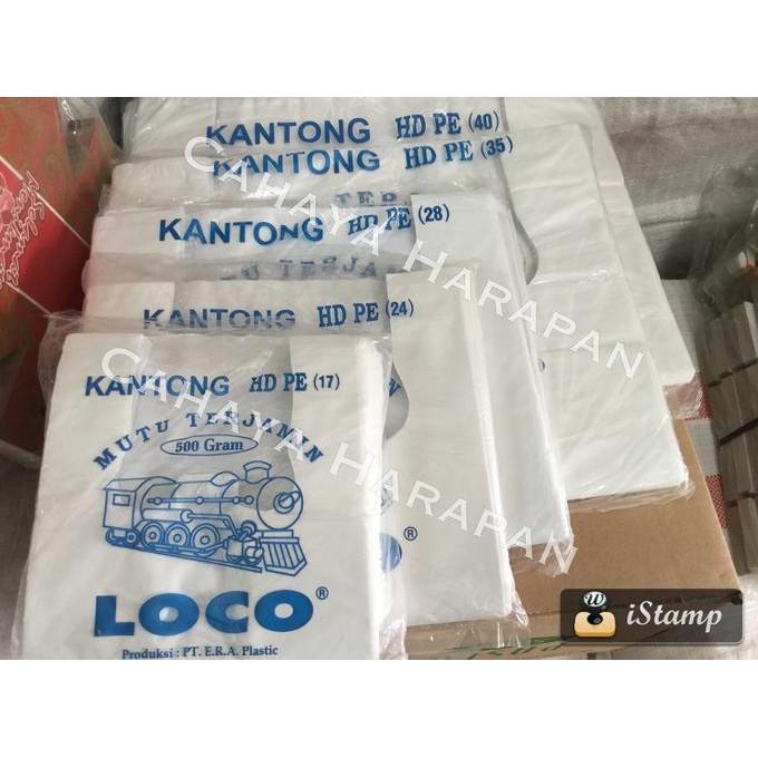 Kantong Plastik Loco Hitam Ekonomis Uk. 50 Terlaris 1000 gram | Shopee Indonesia
