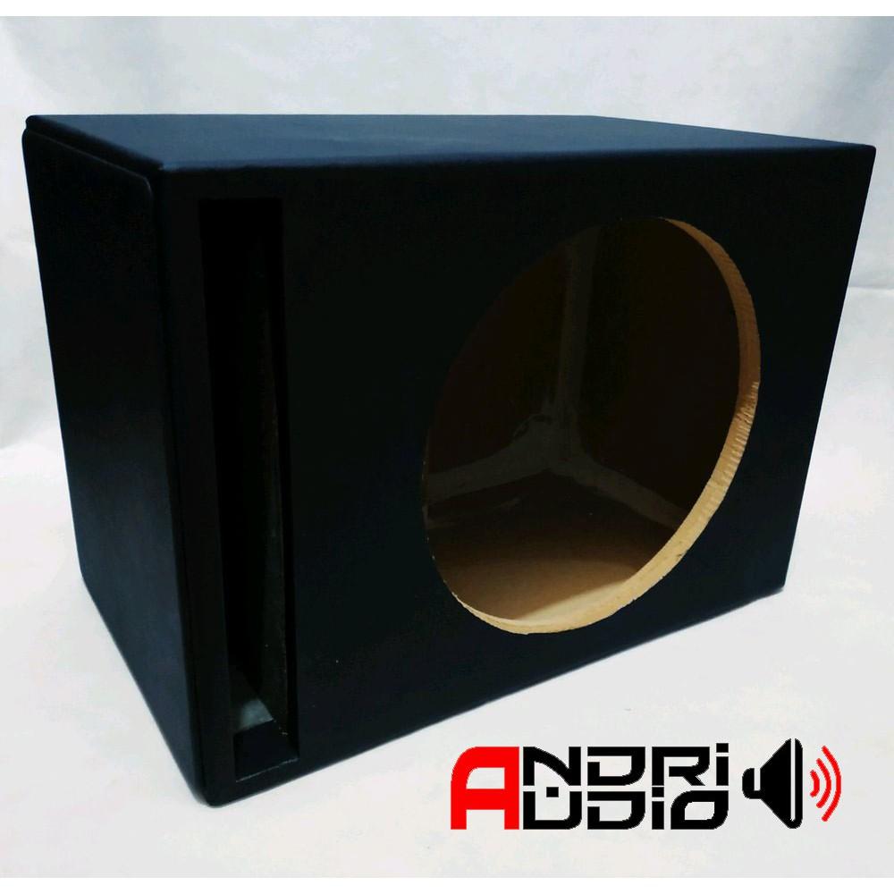 Box Slot Audio Mobil Untuk Subwoofer 12 inch