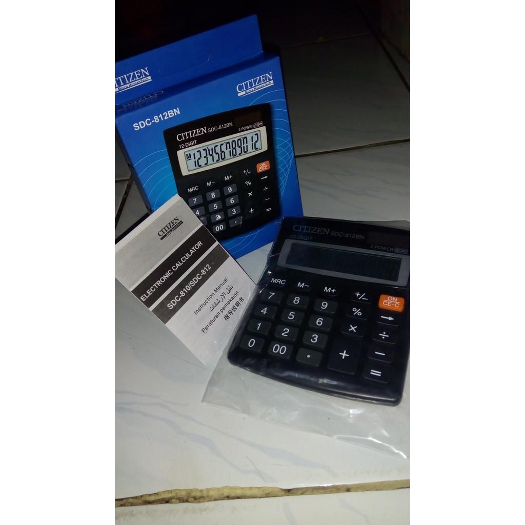 Citizen Sdc 812bn Calculator 12 Digit - Katalog Harga Terkini dan ... 1eb5c8d406