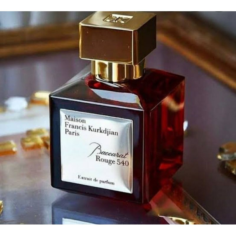 Parfum Original Eropa Maison Francis Kurkdjian Baccarat Rouge 540 Extrait 70ml Shopee Indonesia