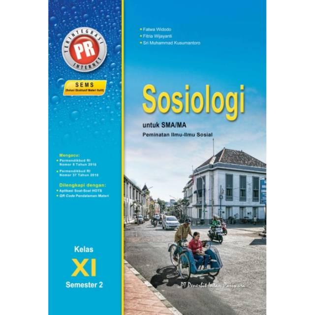Buku Pr Sosiologi Kelas Xi 11 Semester 2 K13 Revisi Intan