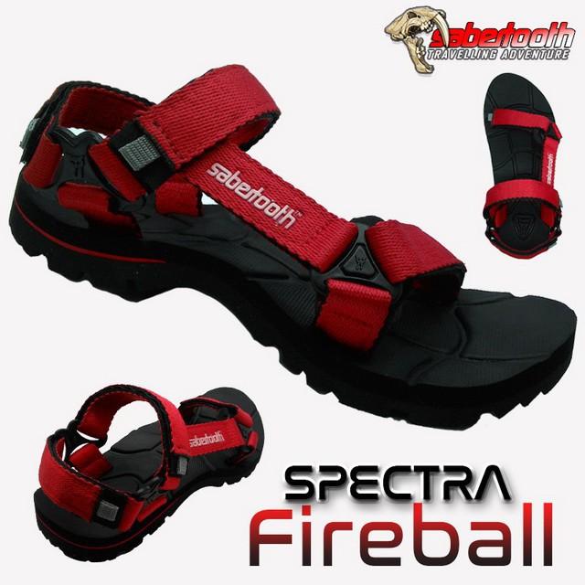 SABERTOOTH Sandal Gunung Traventure Spectra Fireball size 38 s/d 47   Shopee Indonesia